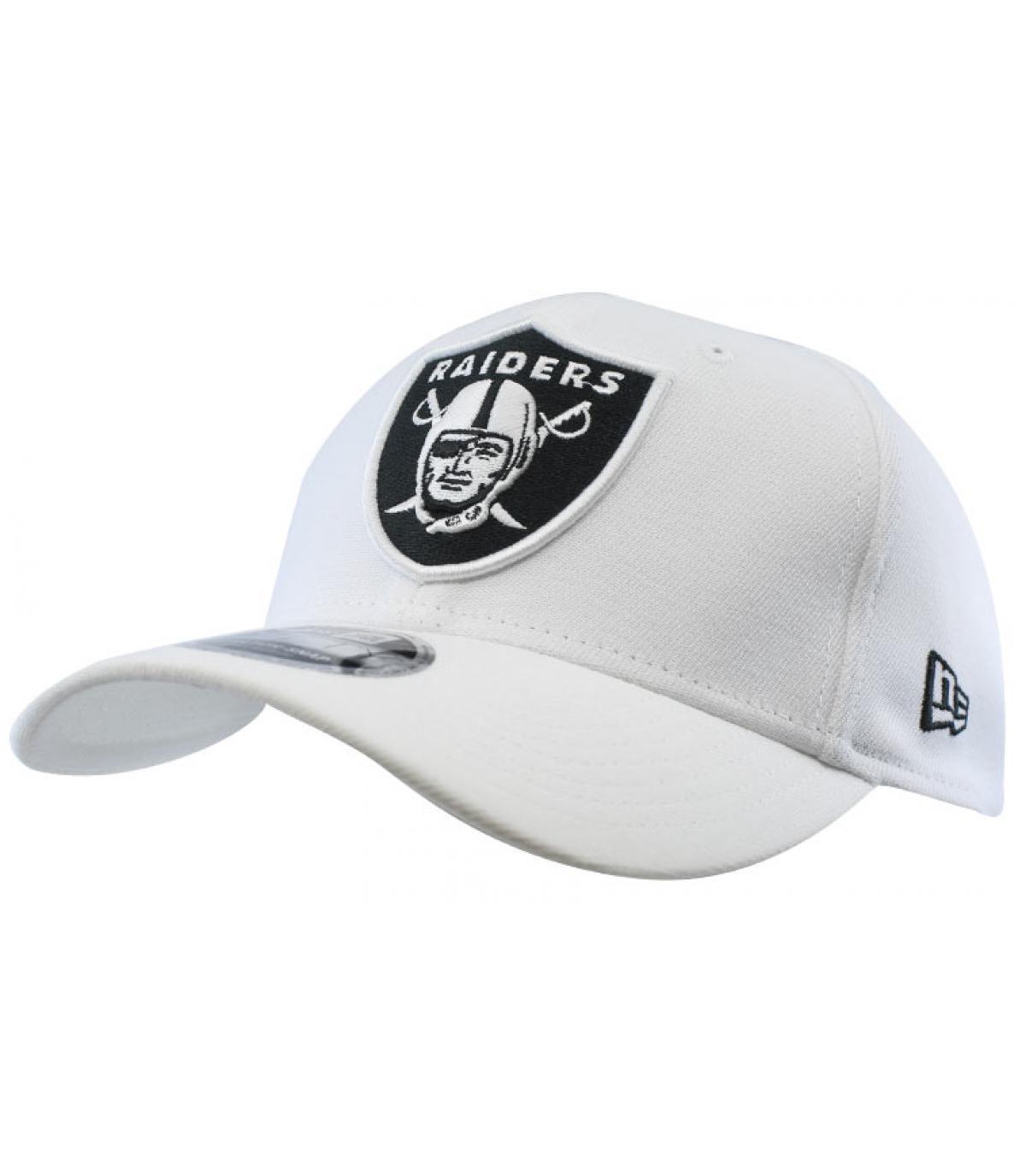 snapback Raiders blanco