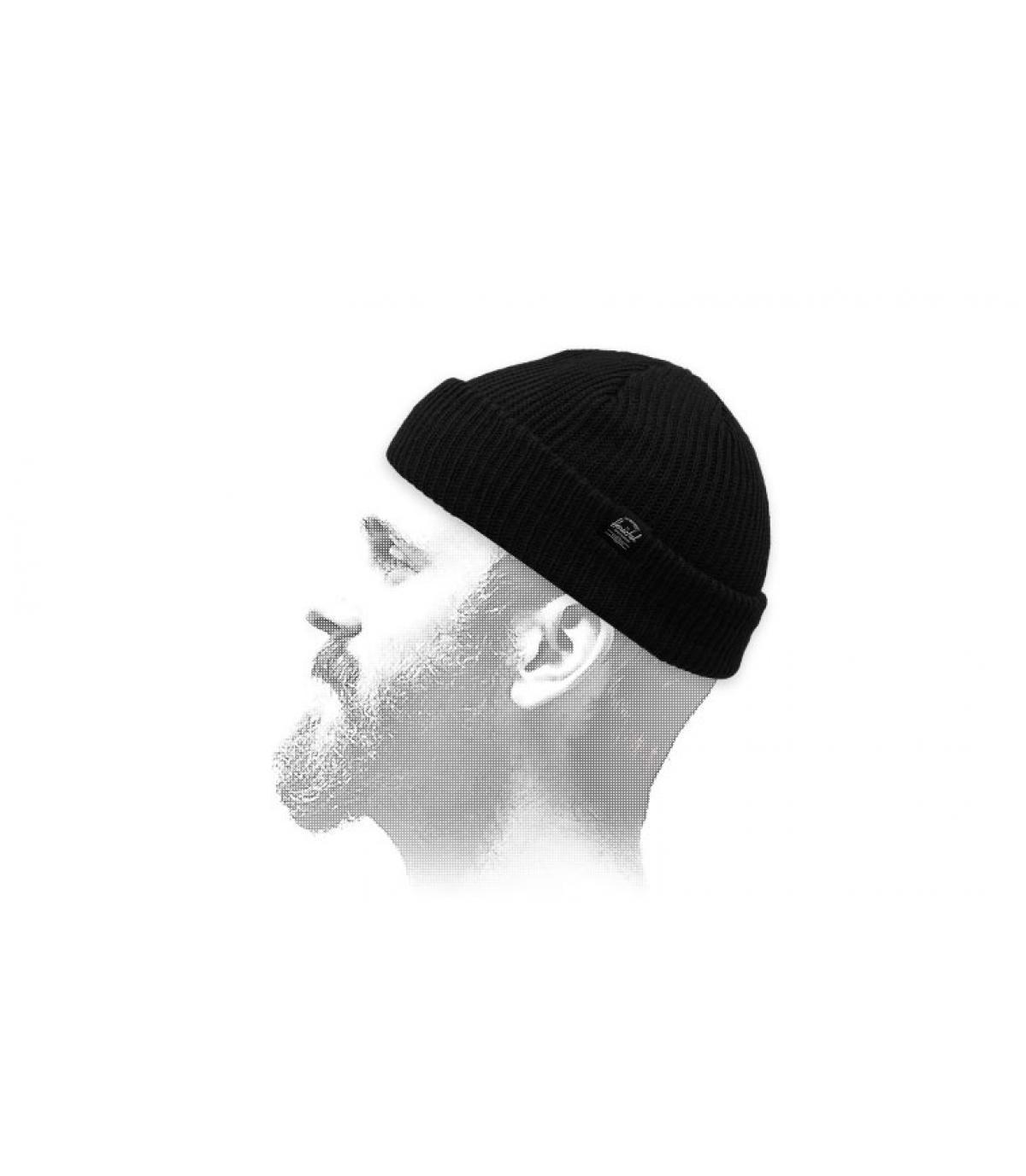 gorro docker negro Herschel