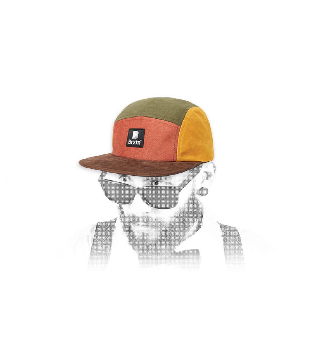 gorra 5 panel colores