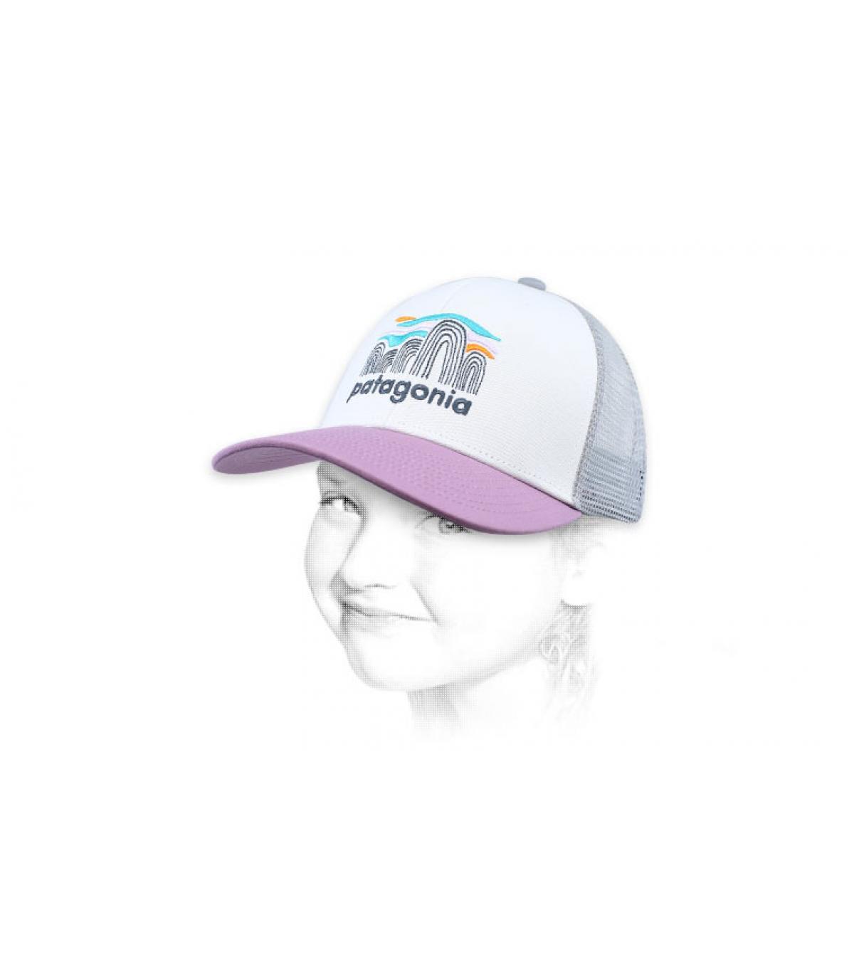 trucker niño rosa Patagonia