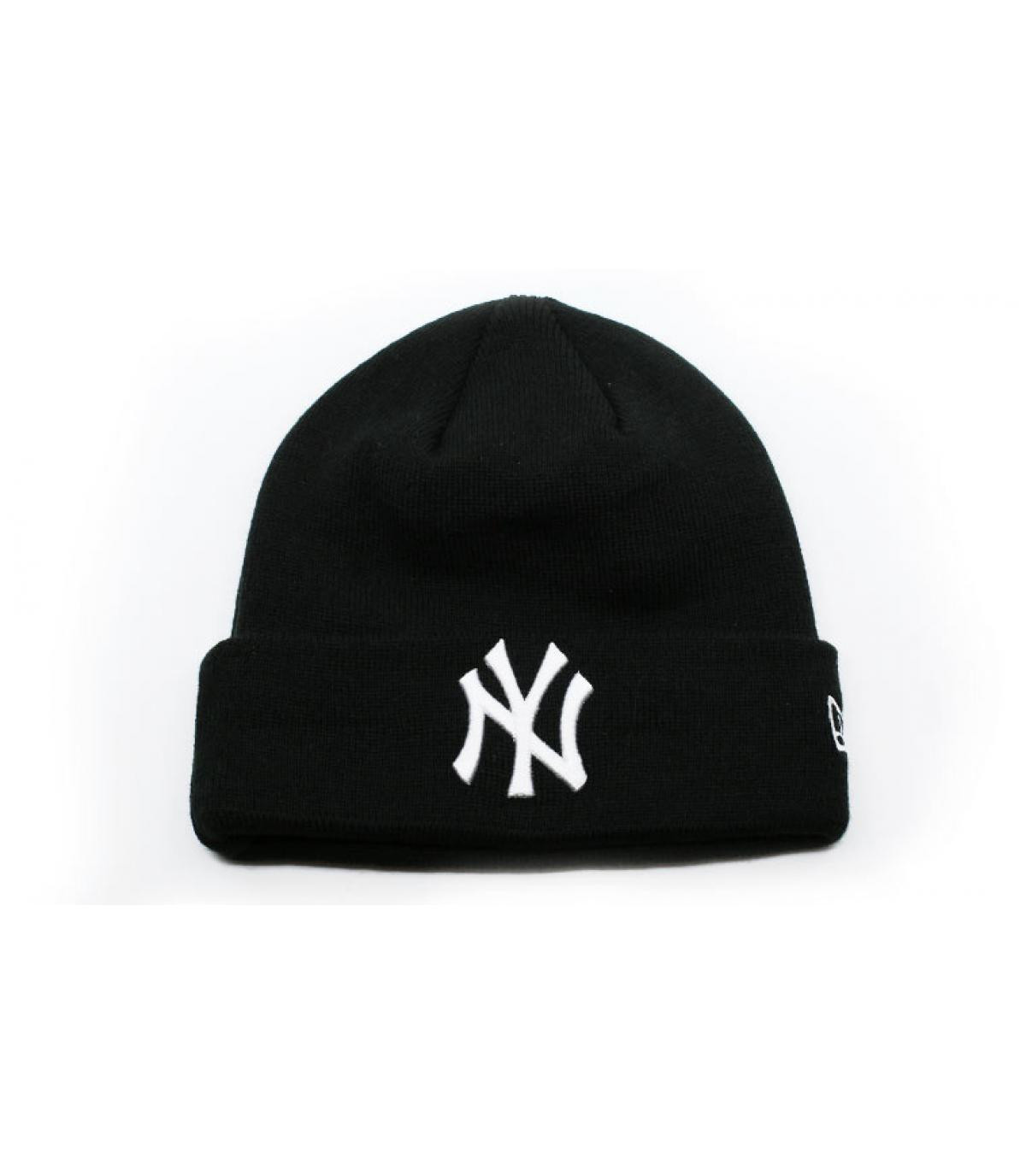 Detalles MLB Essential Cuff NY black white imagen 2