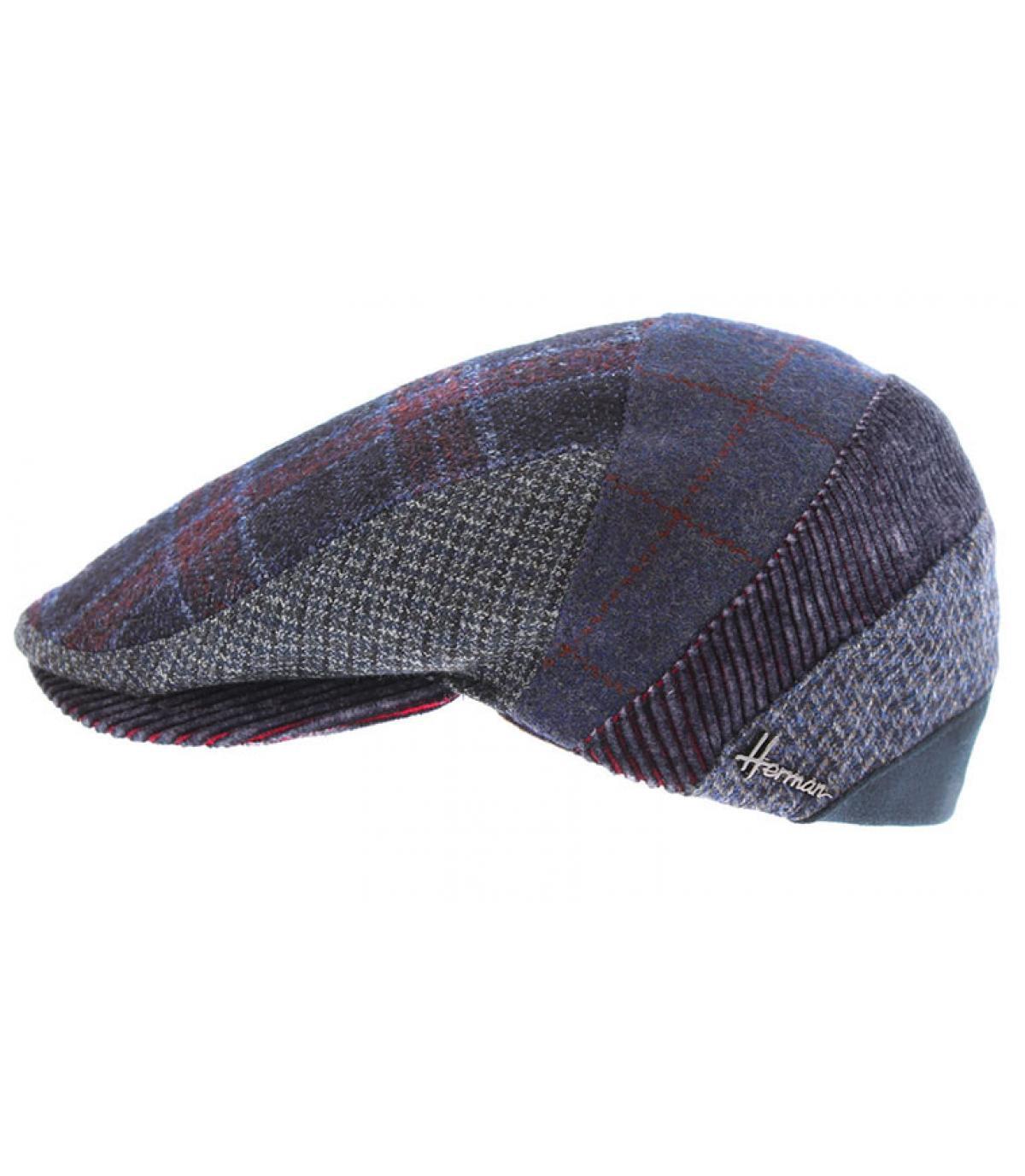 gorra lana multicolor