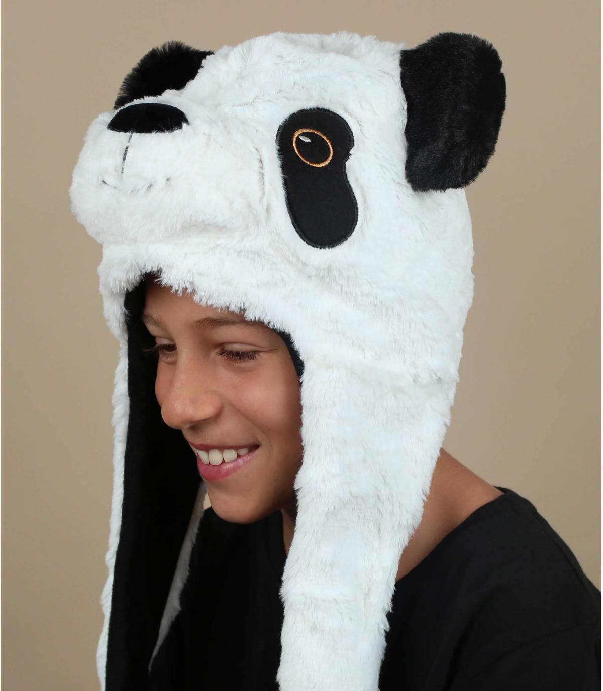 gorro ruso infantil oso panda