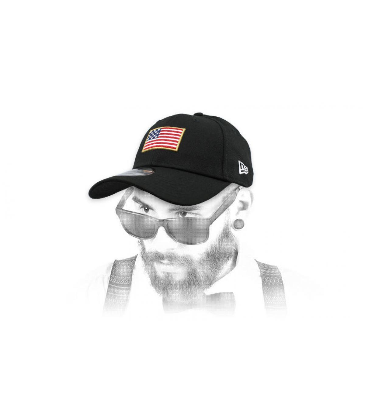 gorra bandeja US negro