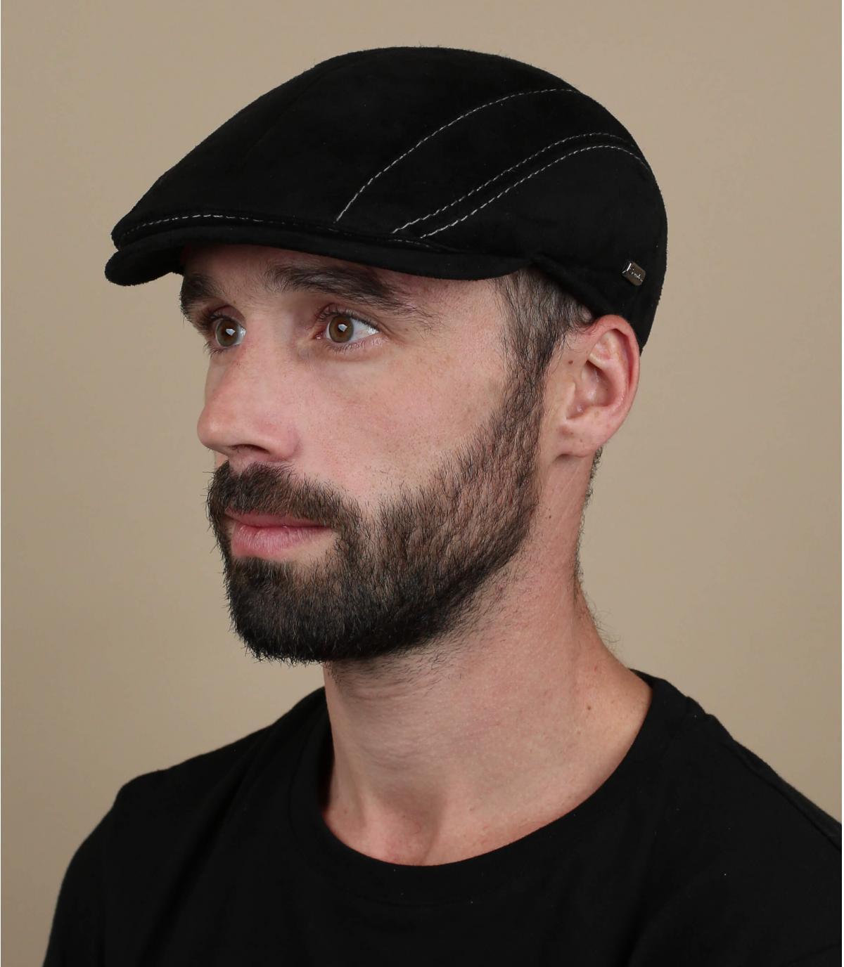 gorra ante negro