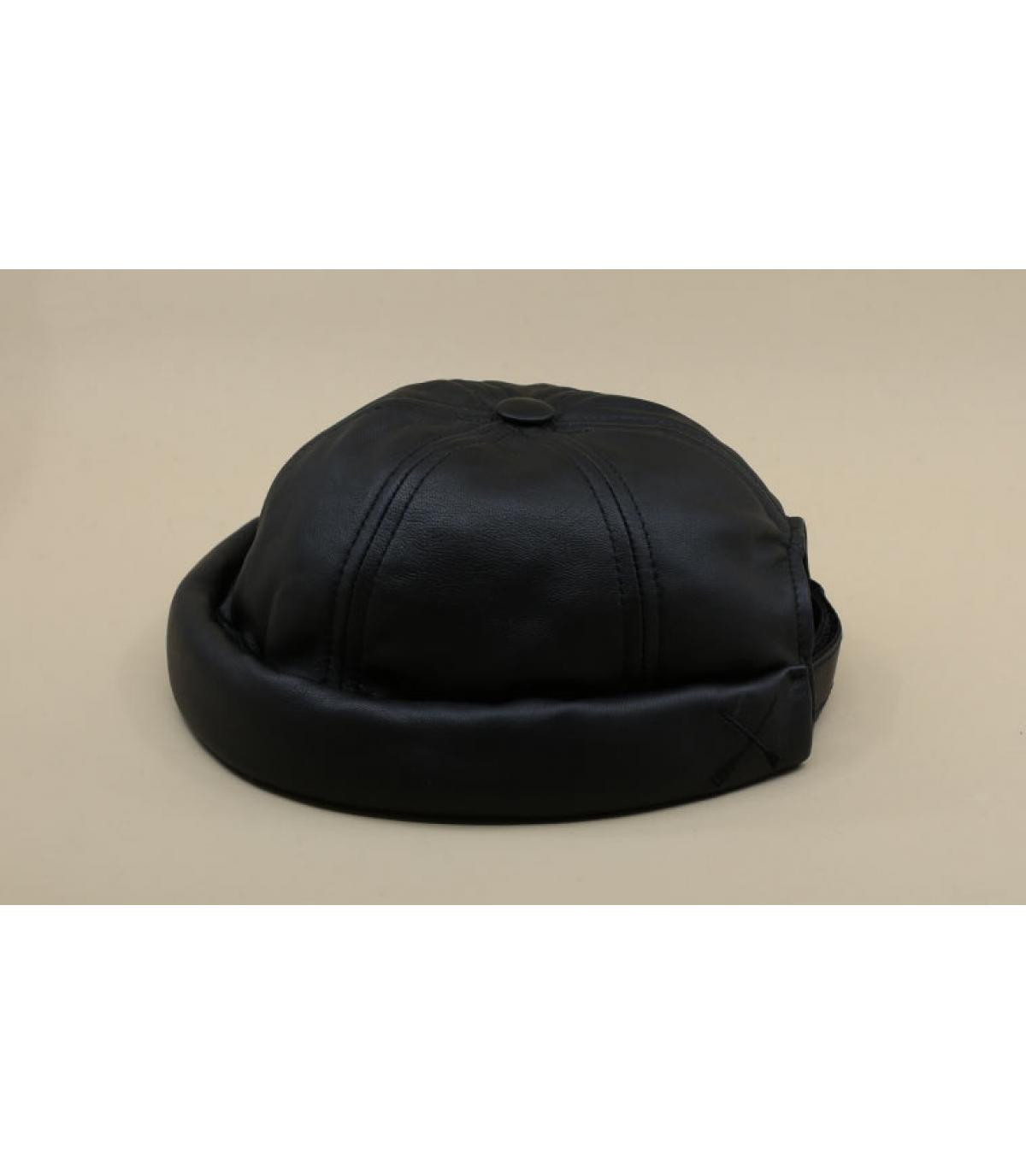 Detalles Miki Leather Waxy black imagen 2