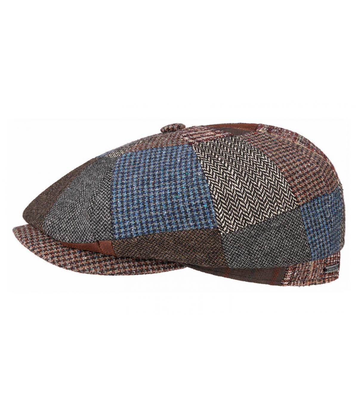 gorra repartidor patchwork