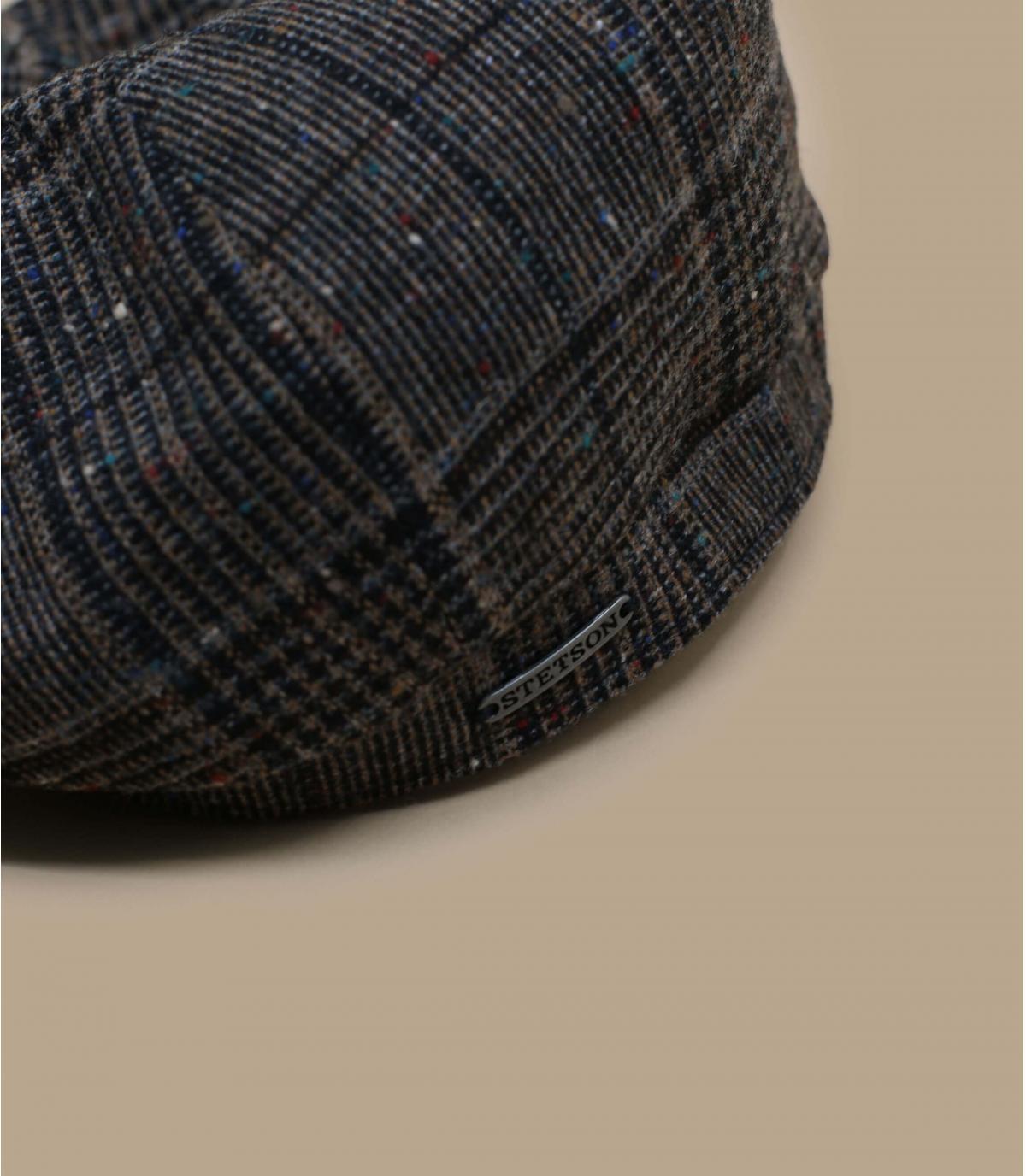Detalles Hatteras Wool brown check imagen 2
