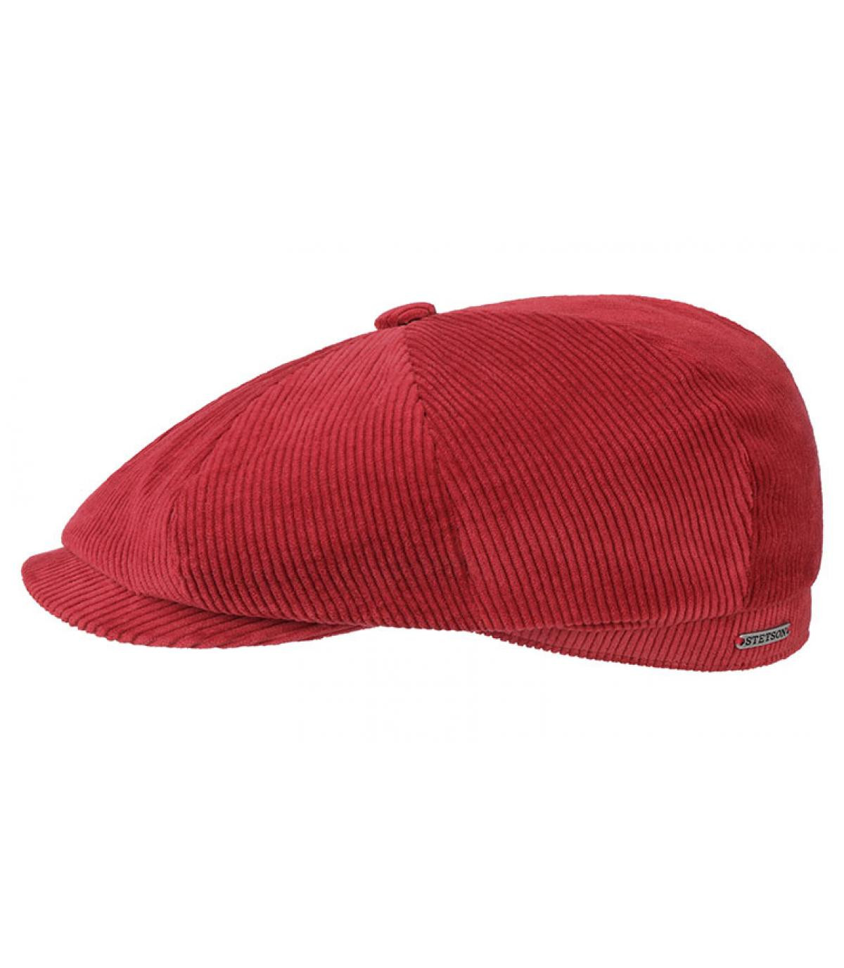 gorra repartidor pana granate
