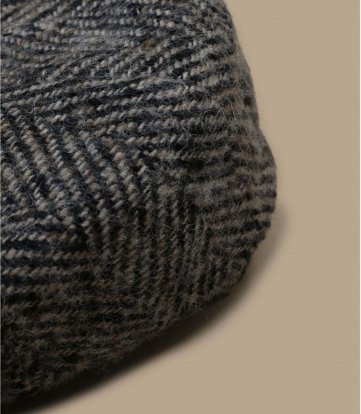 gorra repartidor beis negro lana