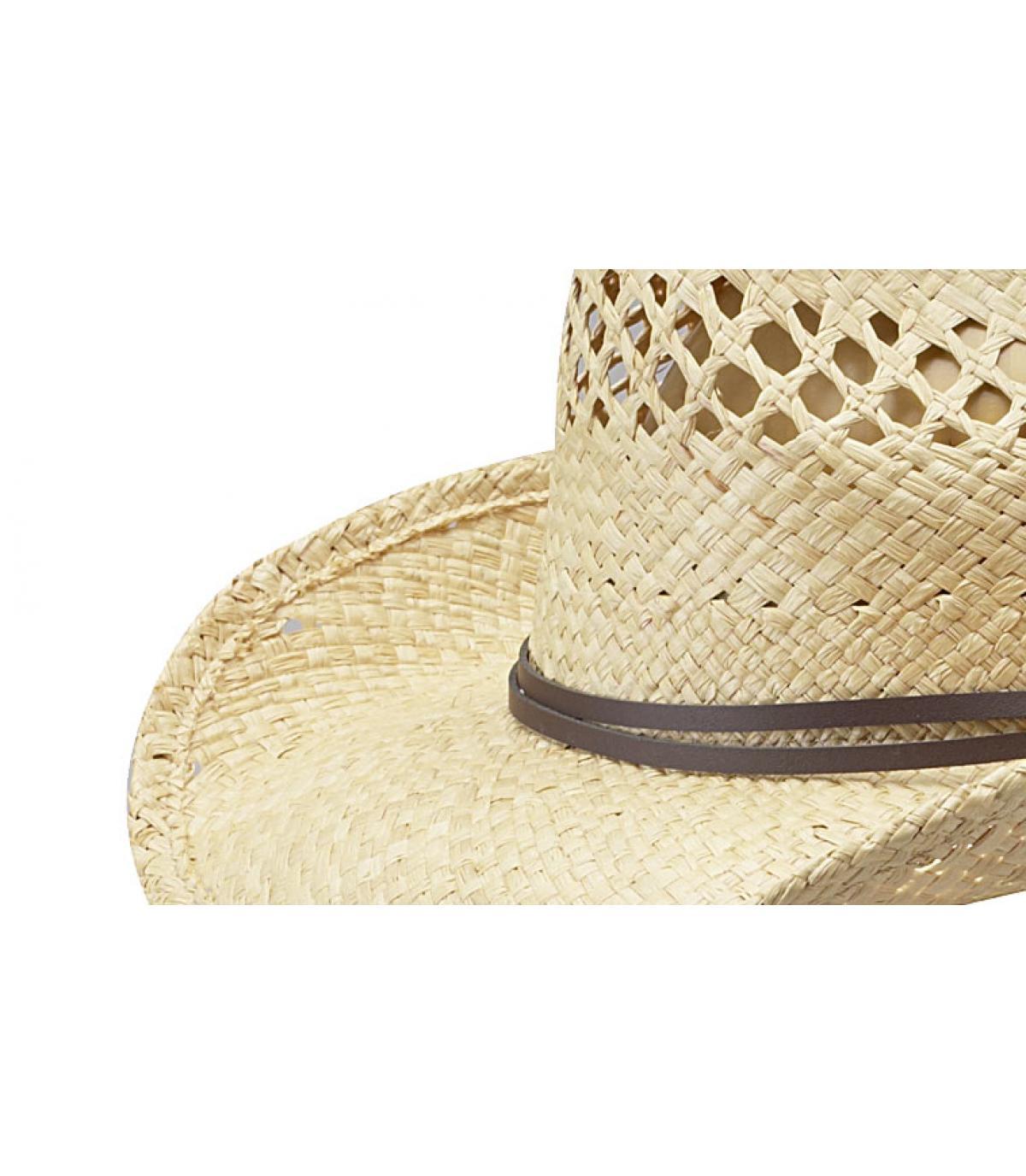 f81df3029f45b Sombrero Cowboys paja Stetson - Sombrero mujer Larimore raffia de ...