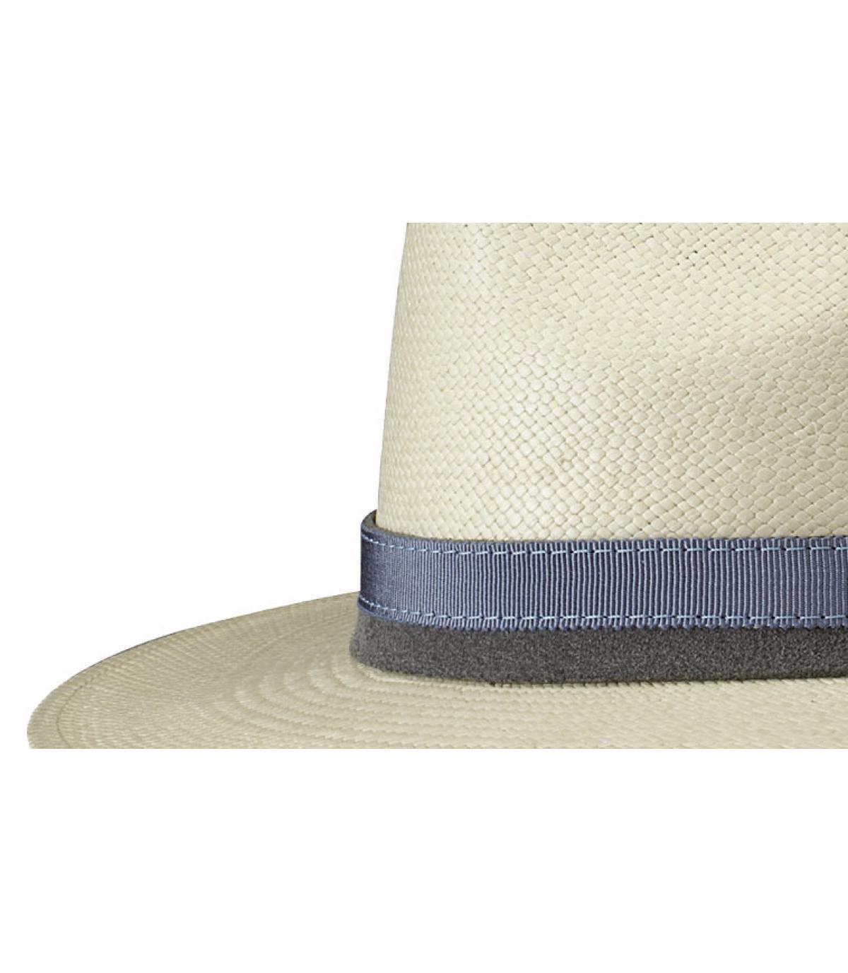Detalles Sombrero Pinecrest panama imagen 2