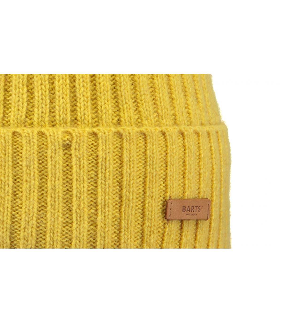 Detalles Augusti Beanie yellow imagen 3