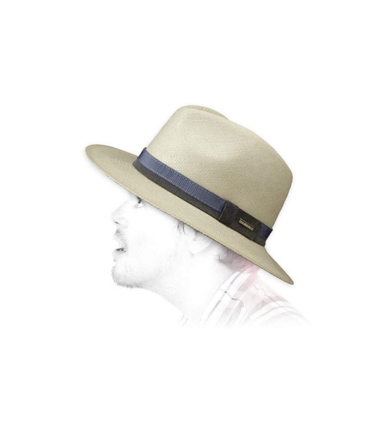 Detalles Sombrero Pinecrest panama imagen 3
