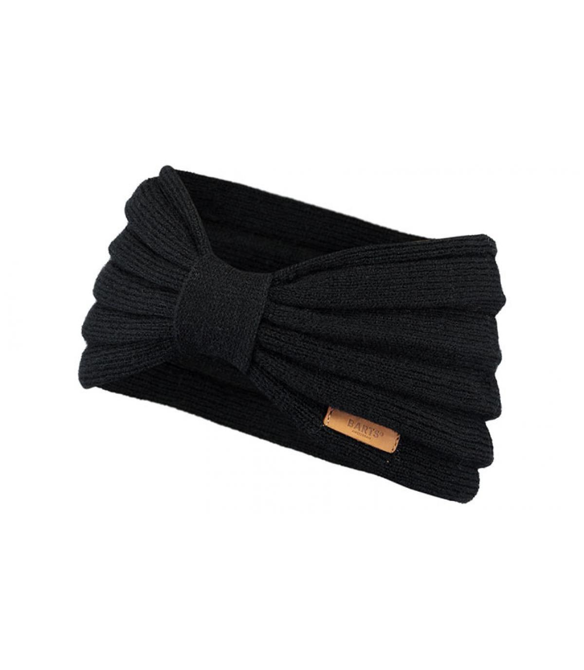 cinta negro nudo