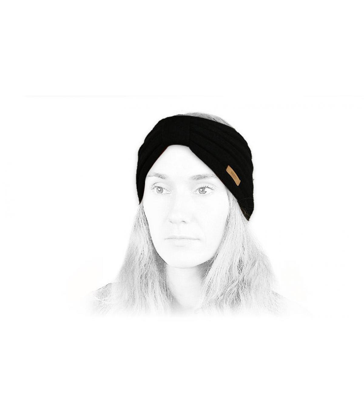 Detalles Zitoun Headband black imagen 4