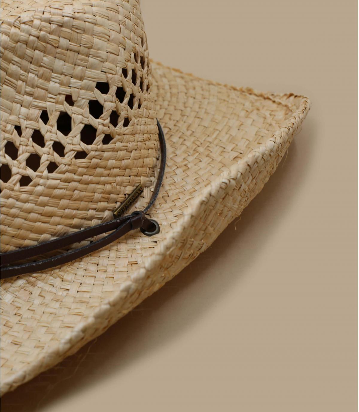Detalles Sombrero Larimore raffia imagen 3