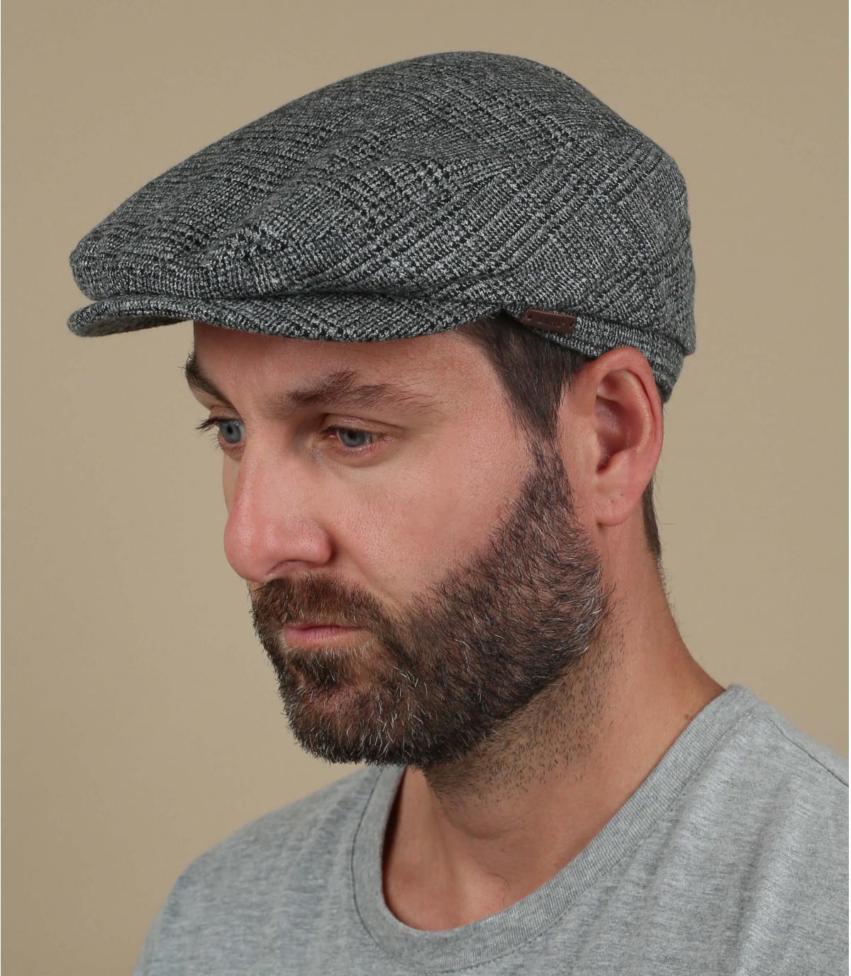 gorra gris lana Barts