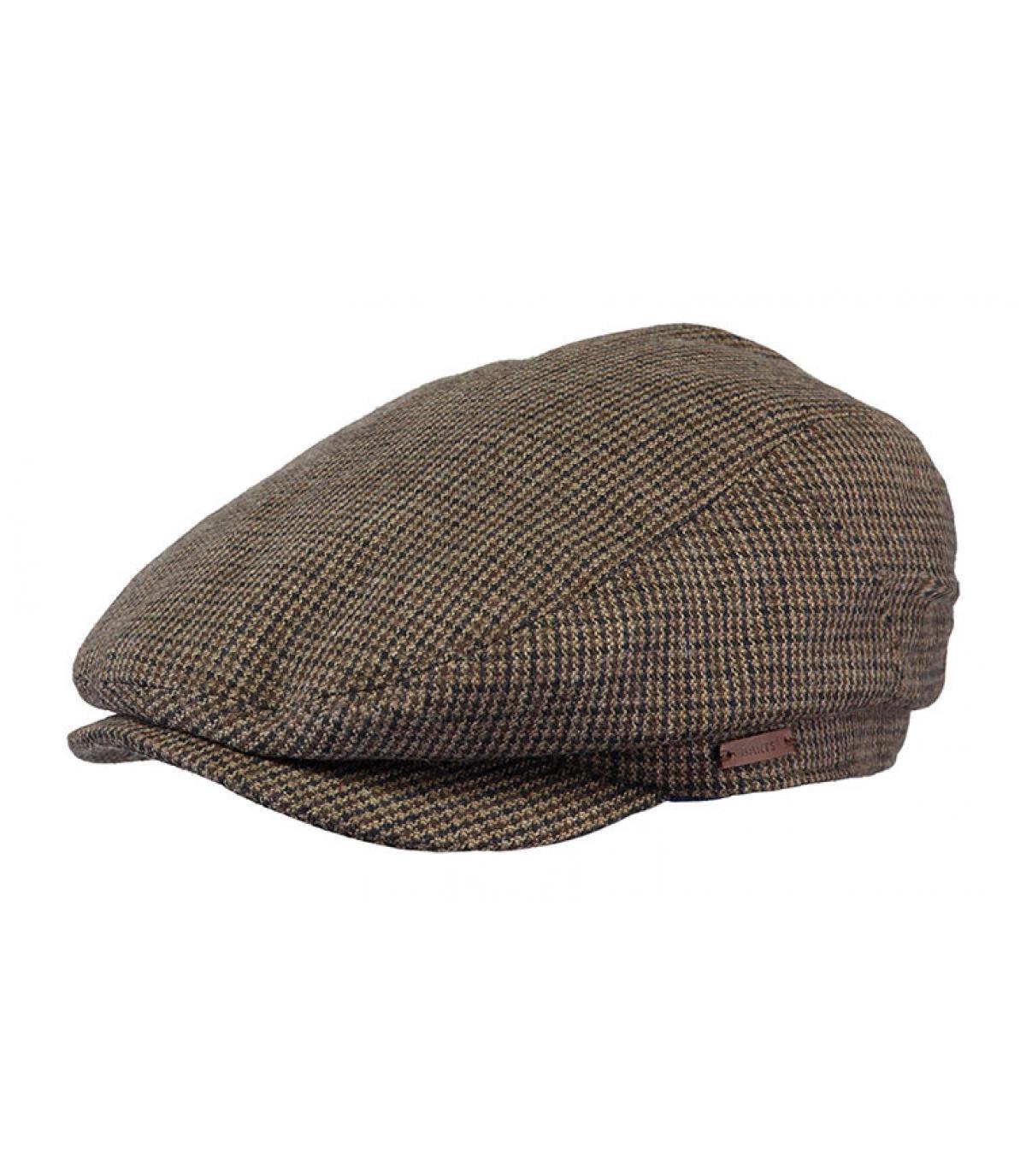 gorra verde cuadros