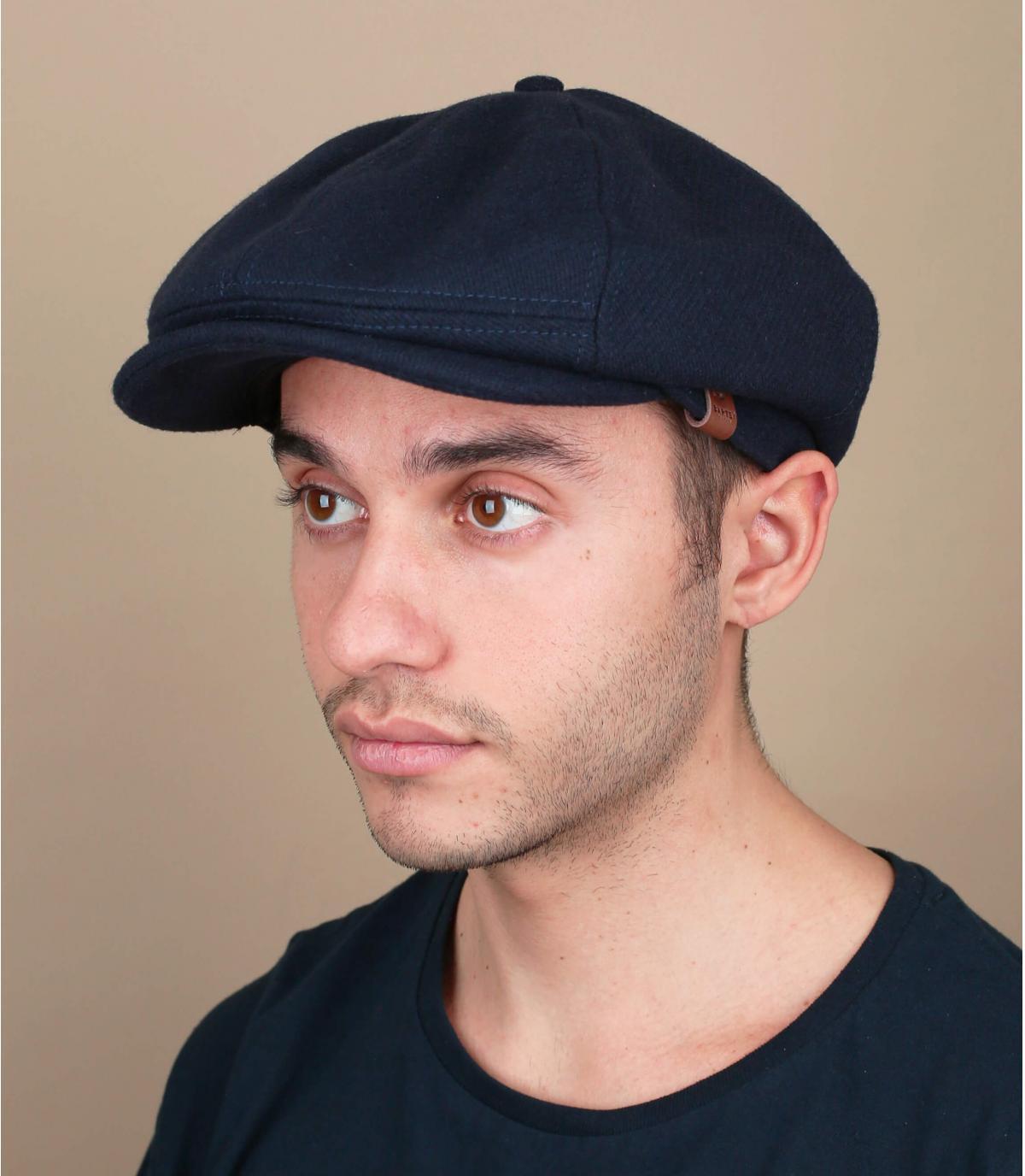 gorra azul lana