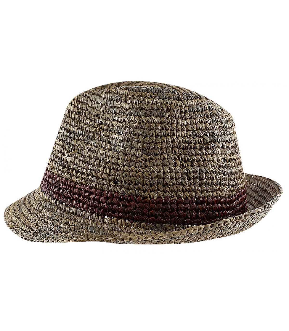 Sombrero paja Christys