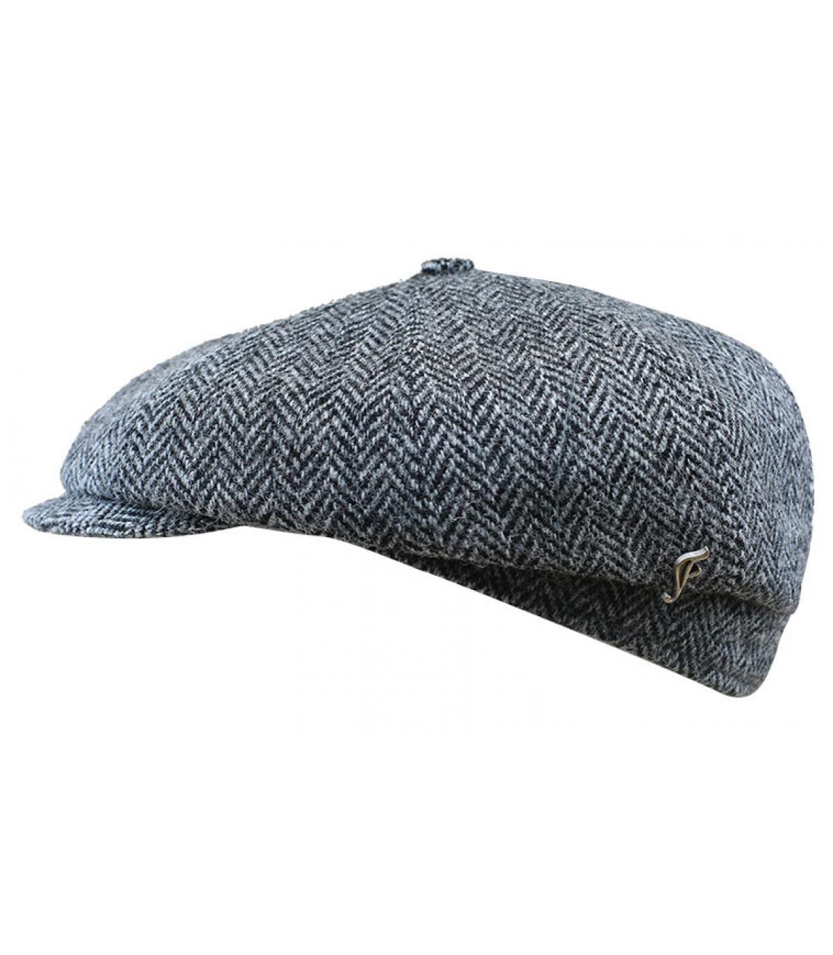 gorra repartidor tweed gris