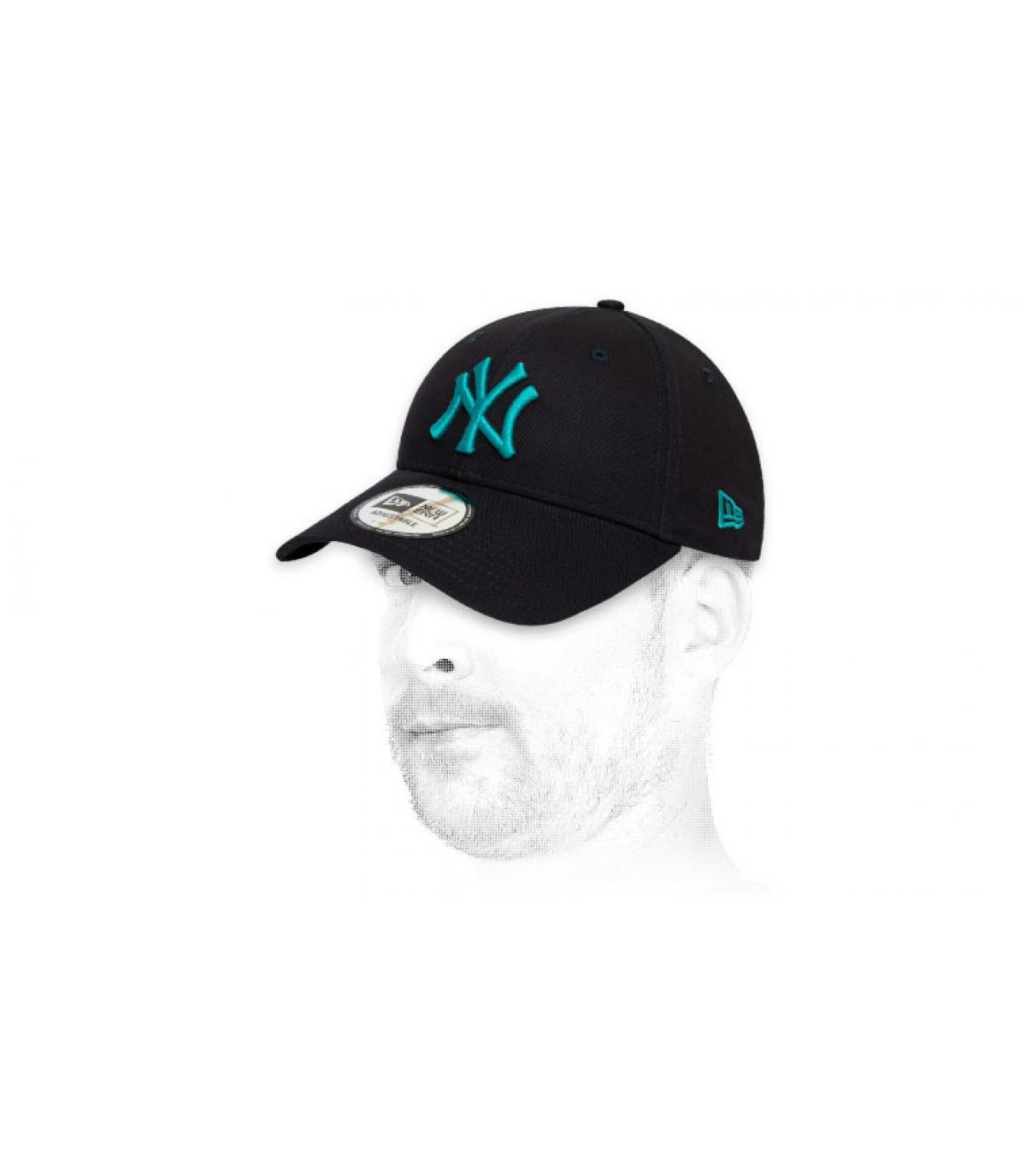 gorra NY azul