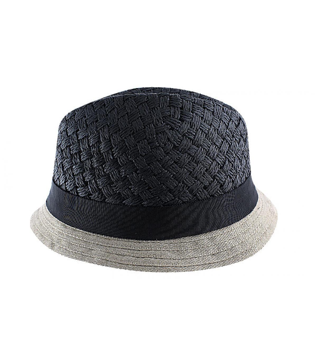 Sombrero Céline Robert negro