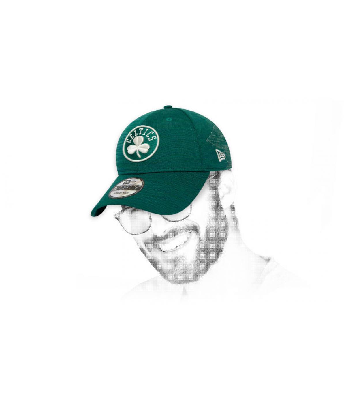 gorra Celtics verde