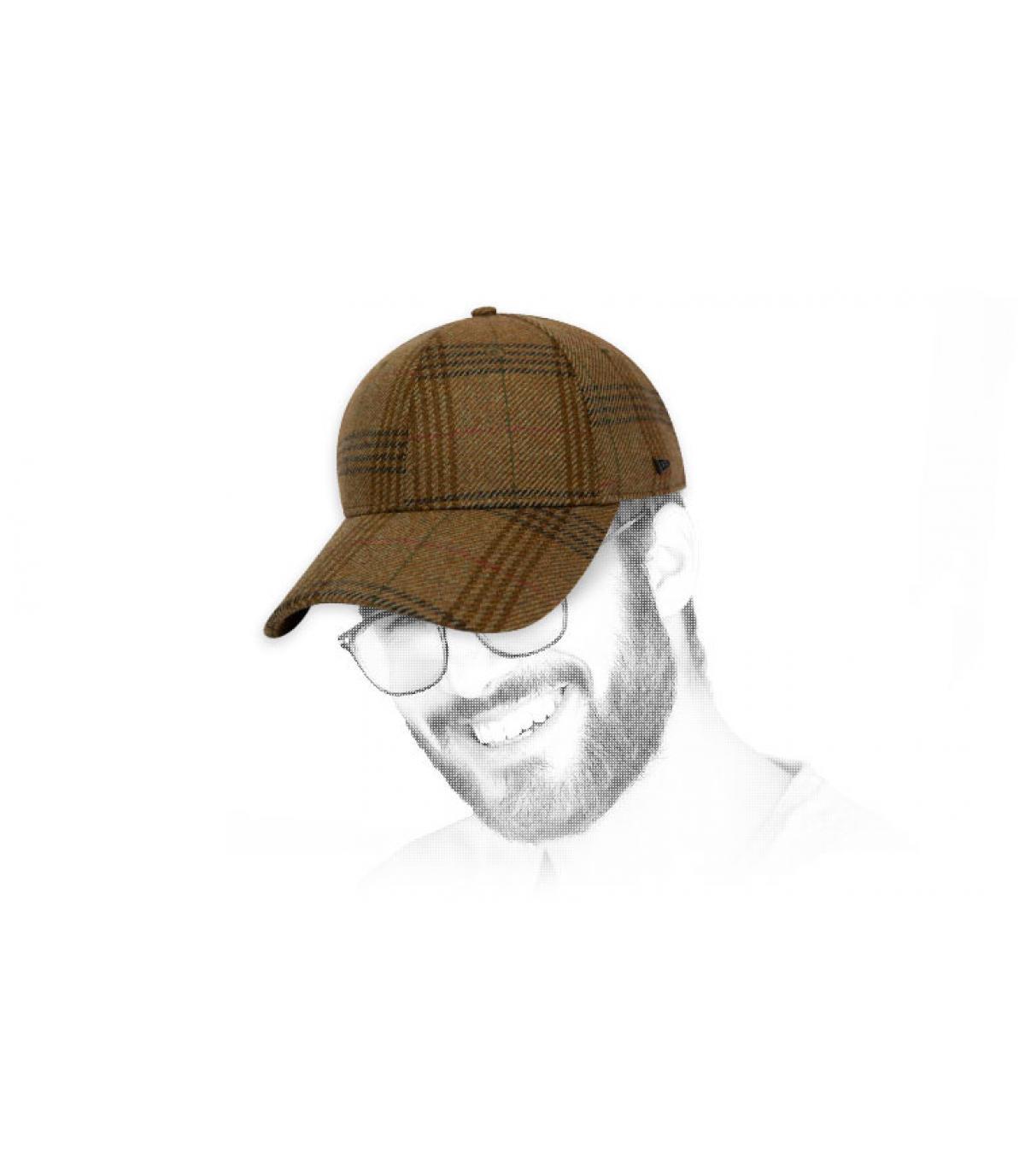 gorra cuadros New Era