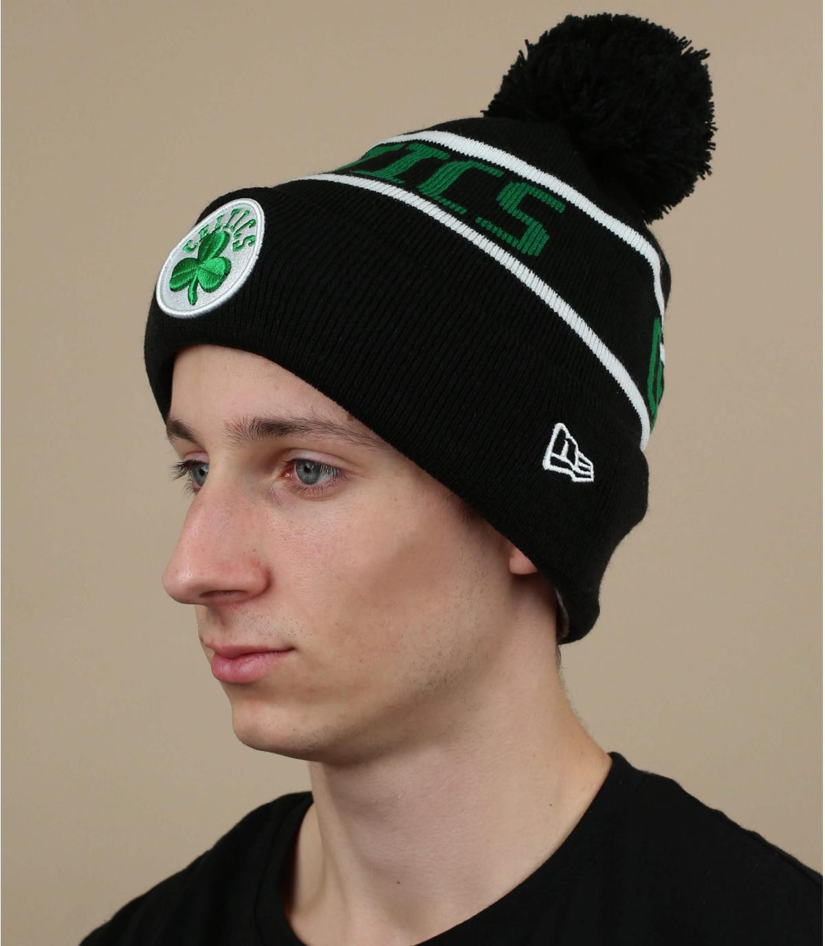 gorro Celtics negro verde