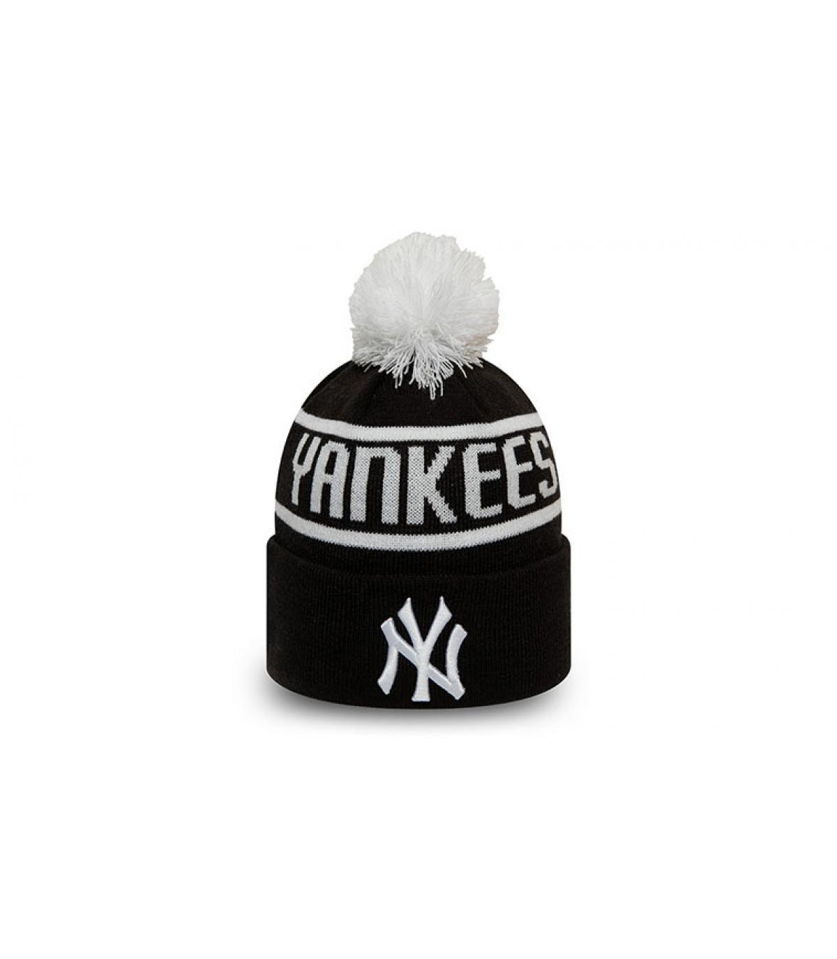 gorro niño Yankees negro