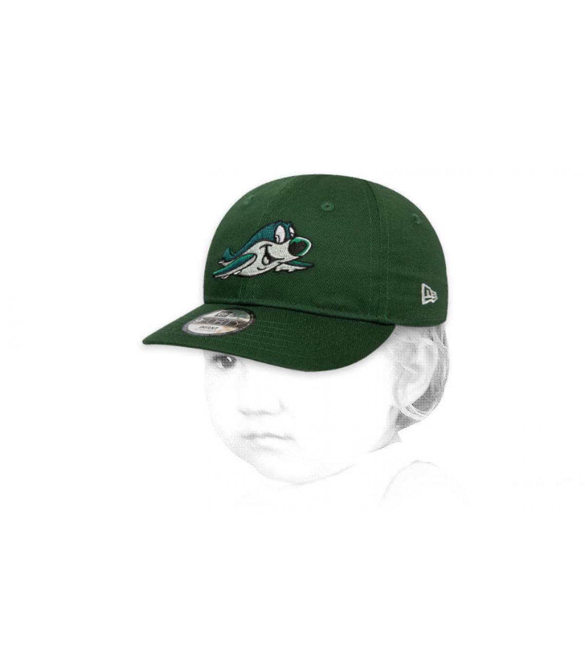 gorra bebe Jets verde