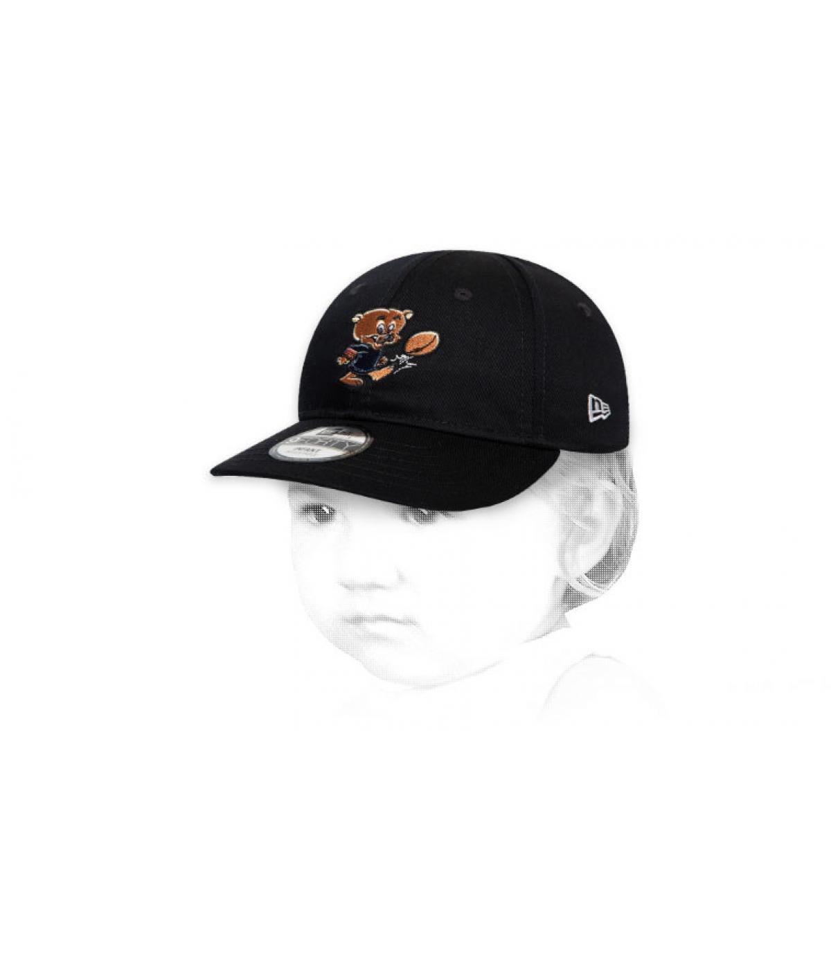 gorra bebe Bears negro