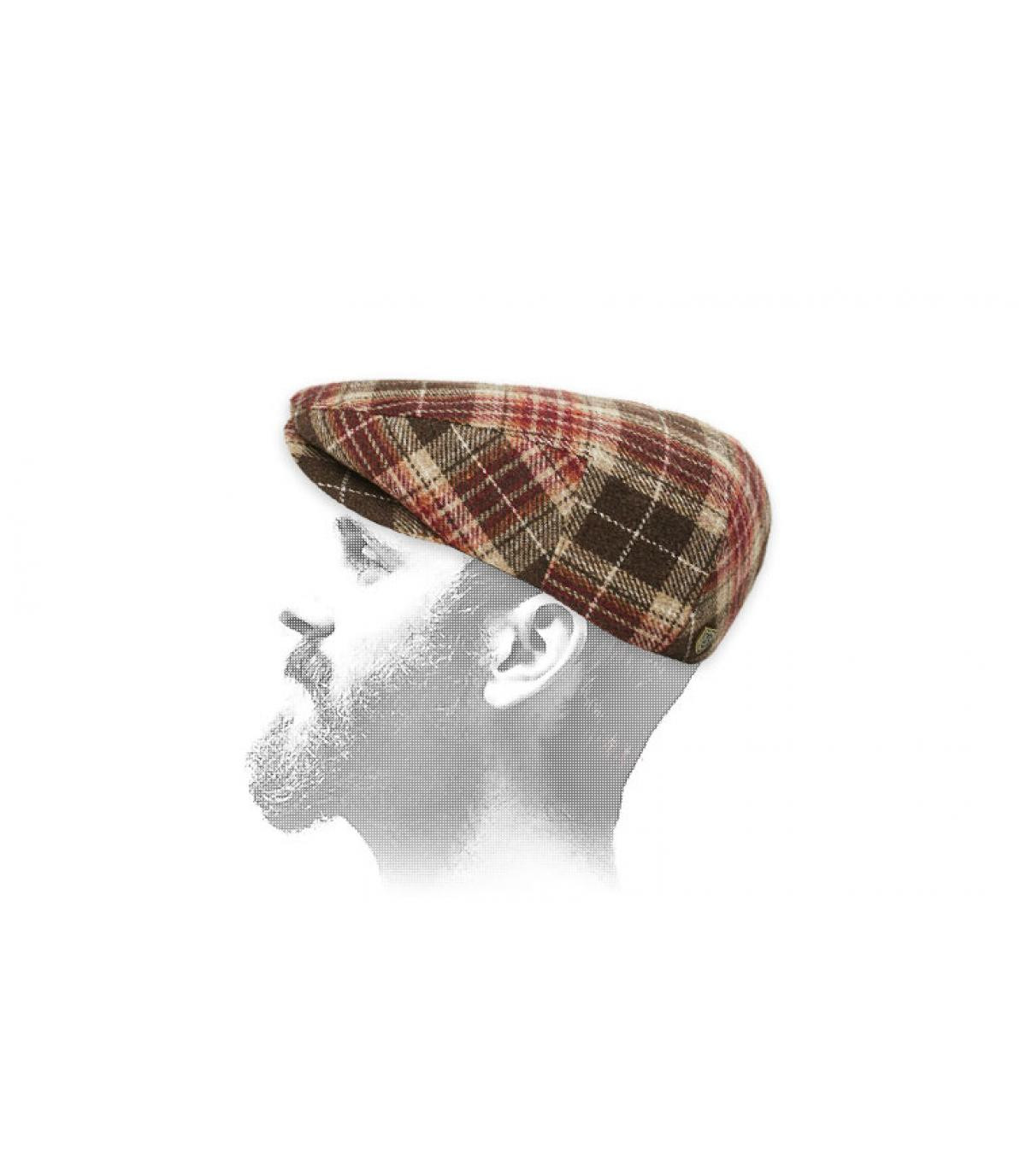 gorra cuadros Brixton