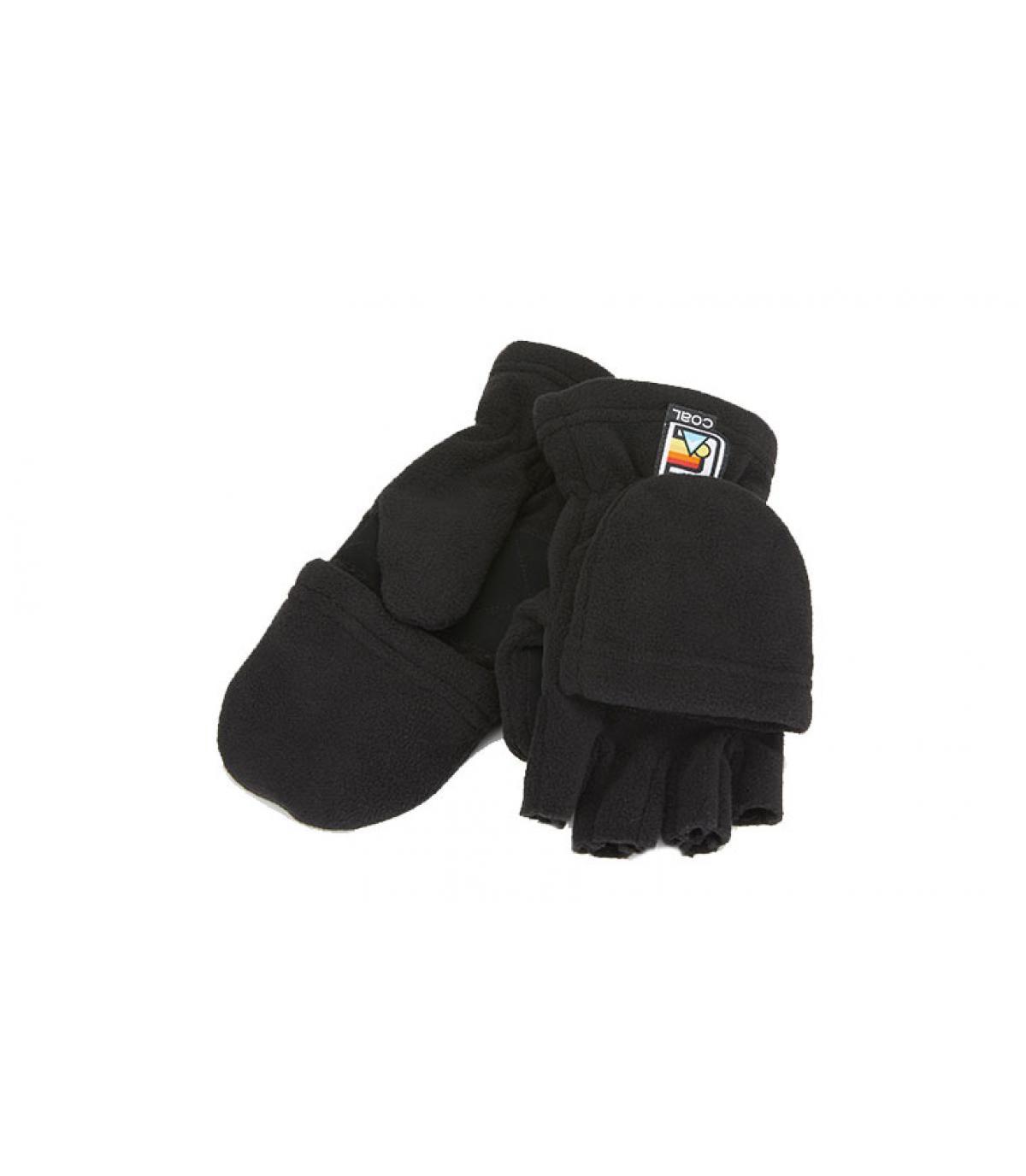 guantes negros Coal