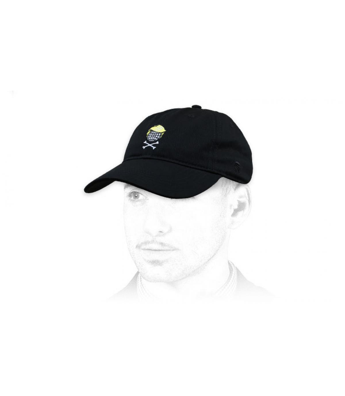 gorra negro