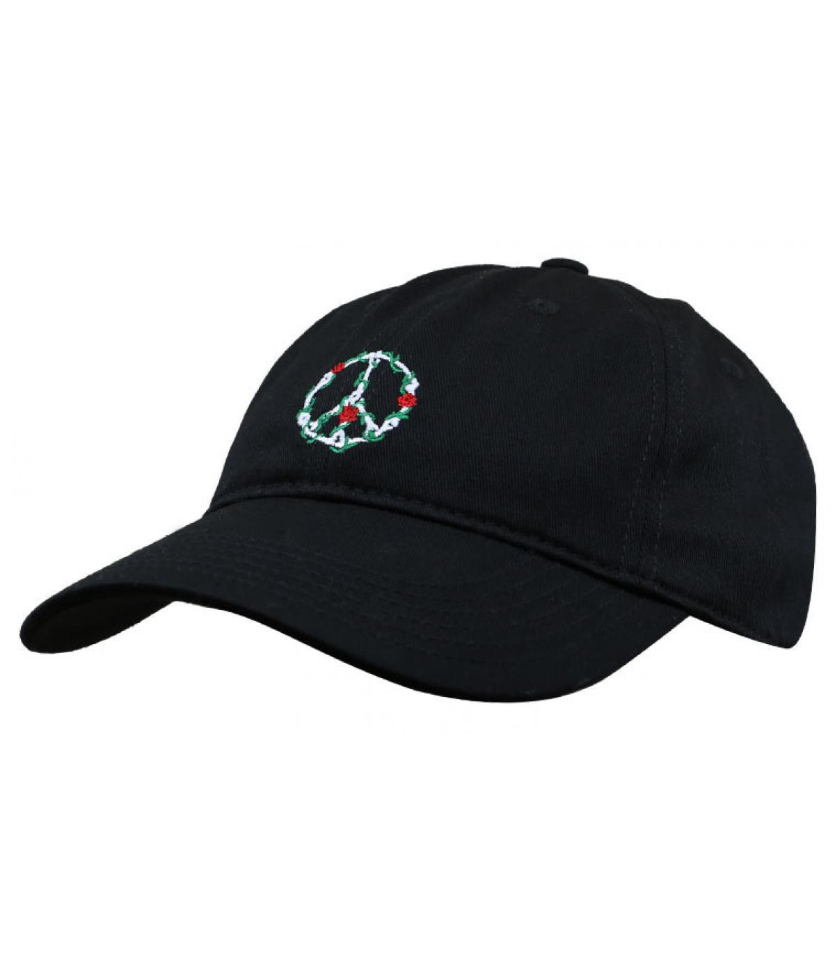 gorra paz negro