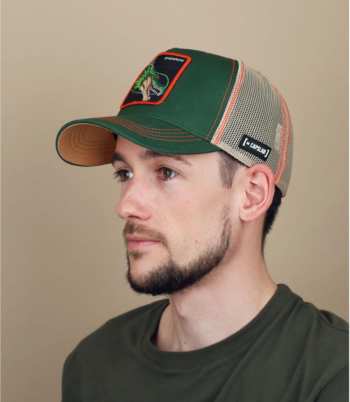 DBZ Shenron trucker verde