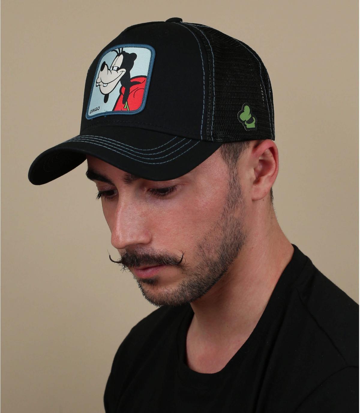 gorra trucker negra Dingo