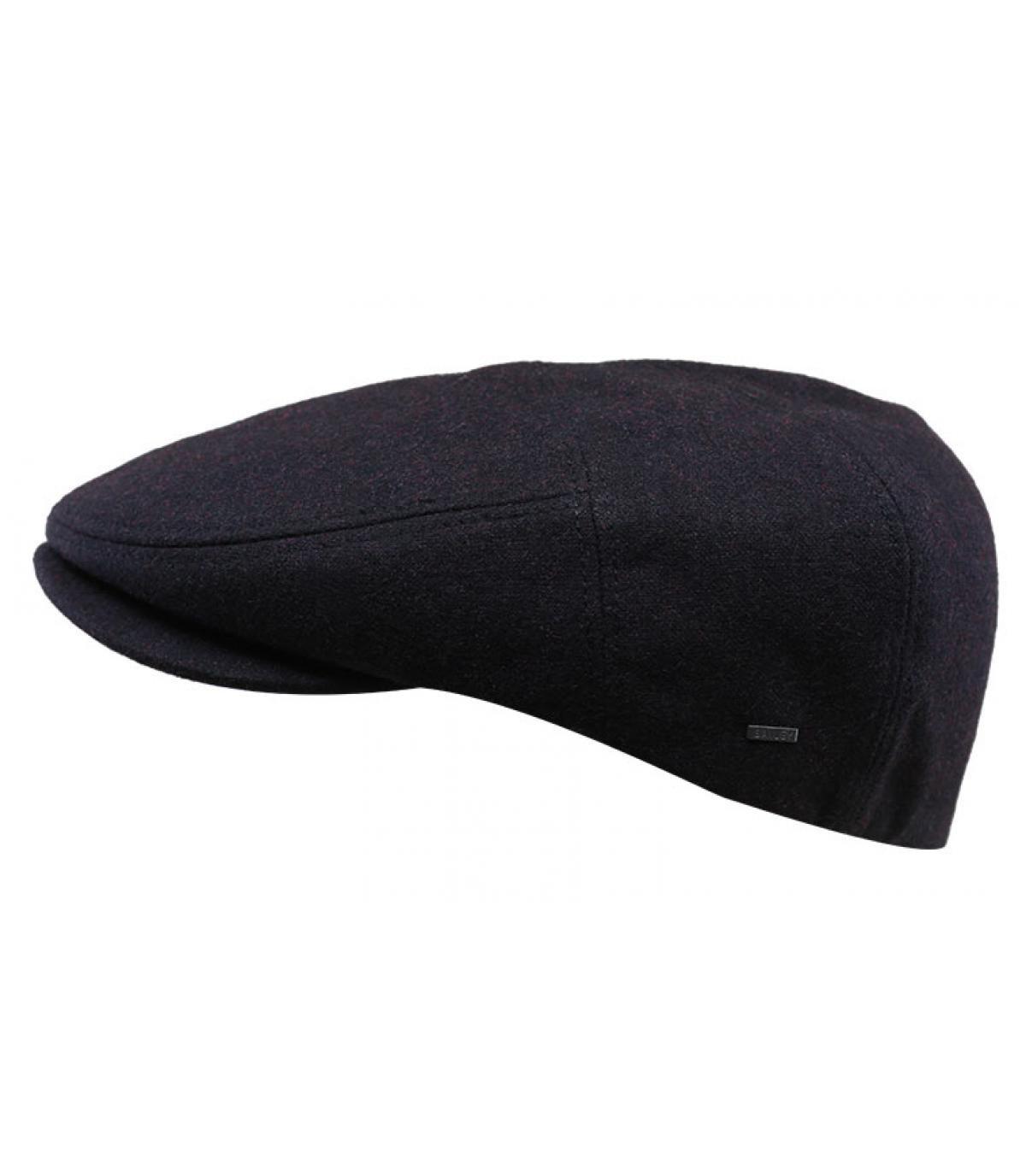gorra granate lana