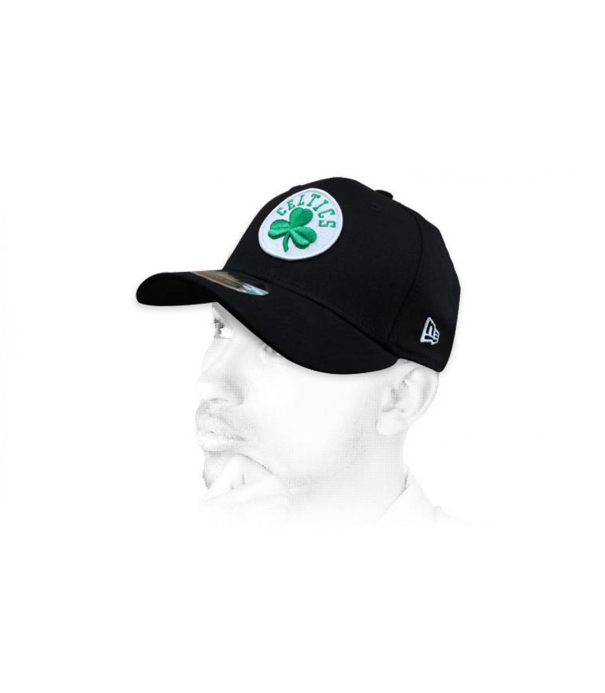 gorra Celtics negro