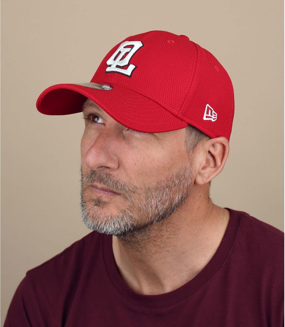 gorra OL rojo