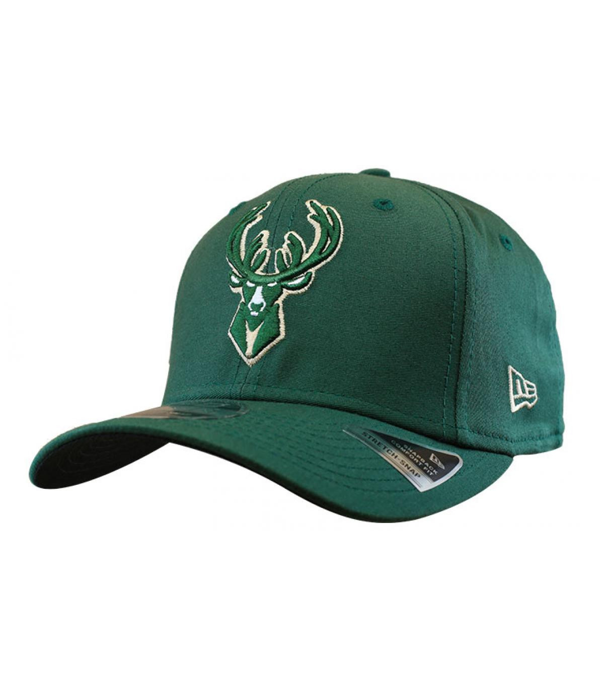 gorra Milwaukee Bucks verde