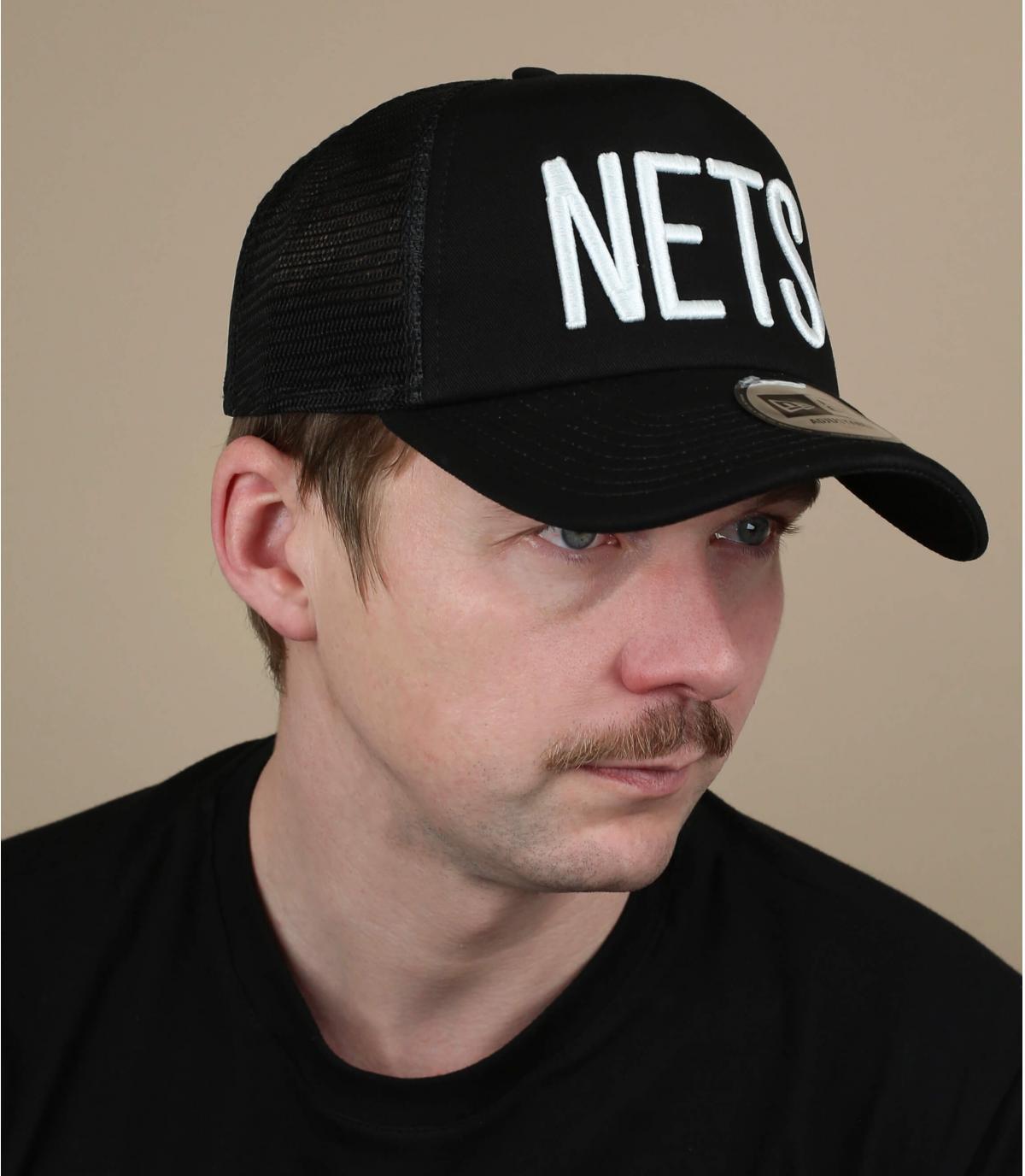 trucker Nets negro
