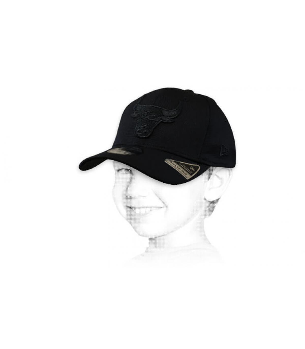 gorra niño Bulls negro