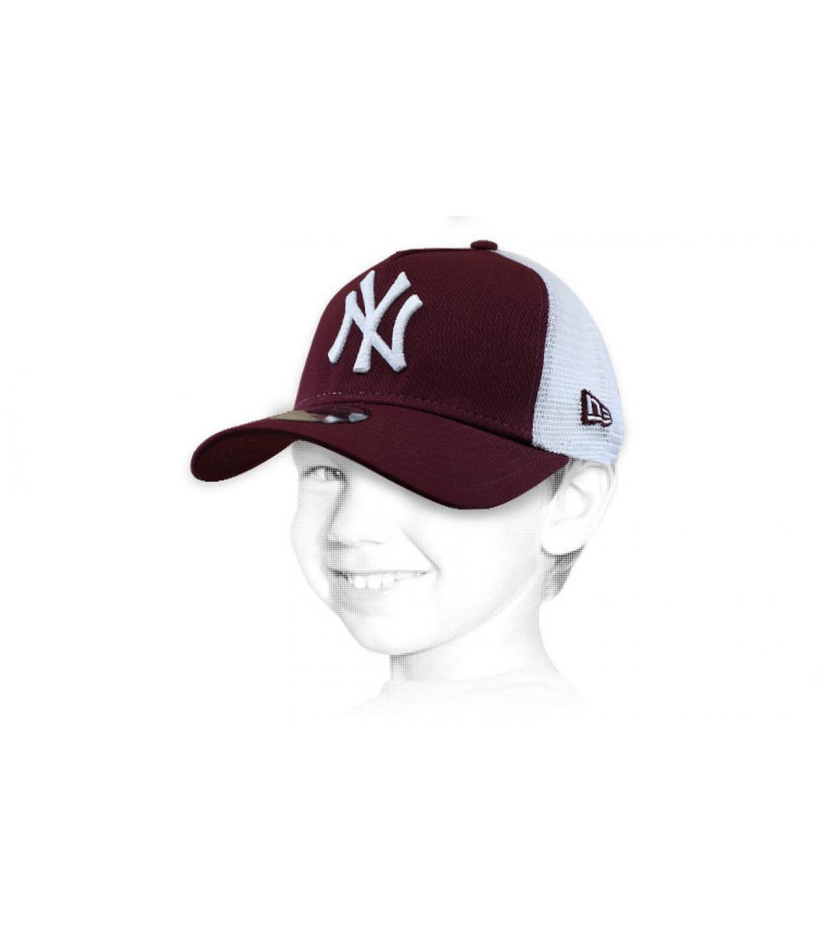 trucker niño NY granate