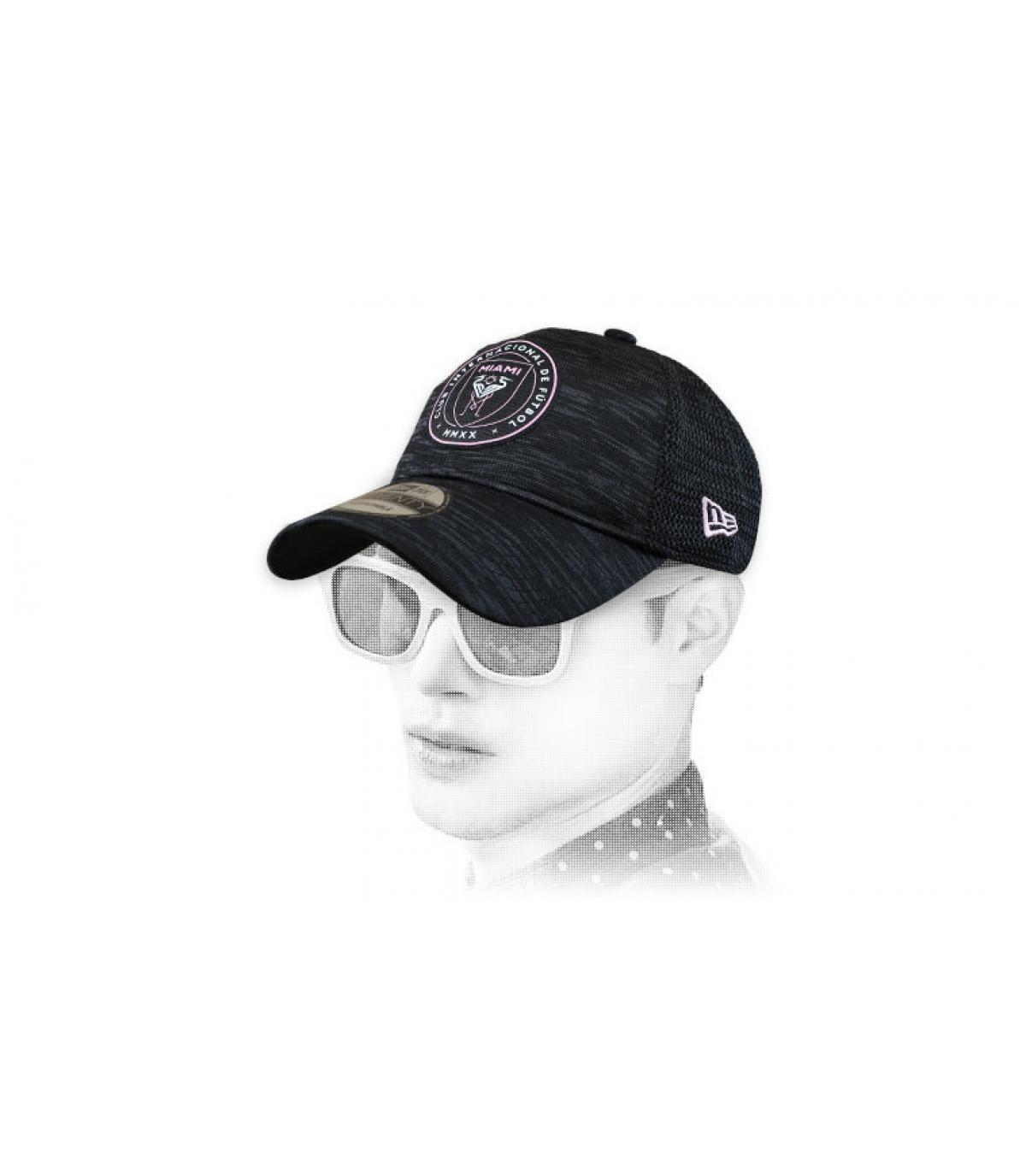 gorra Inter Miami negro