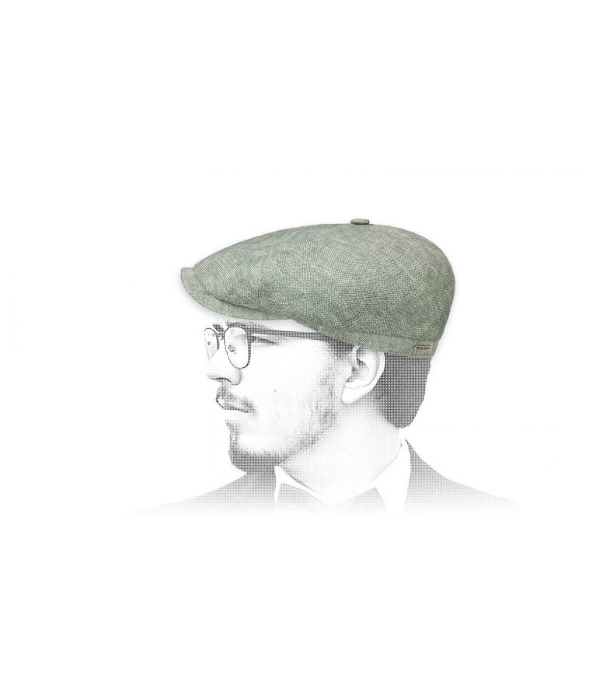 gorra repartidor lino verde