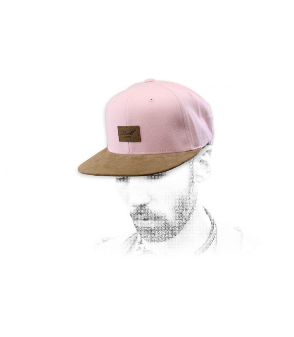 snapback rosa ante Reell